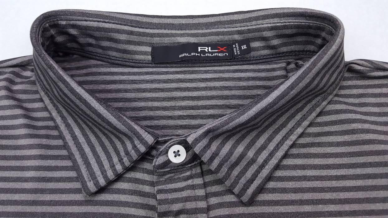 Ralph Lauren Rlx Striped Gray 2xl Polo Shirt Size Xxl Polos For