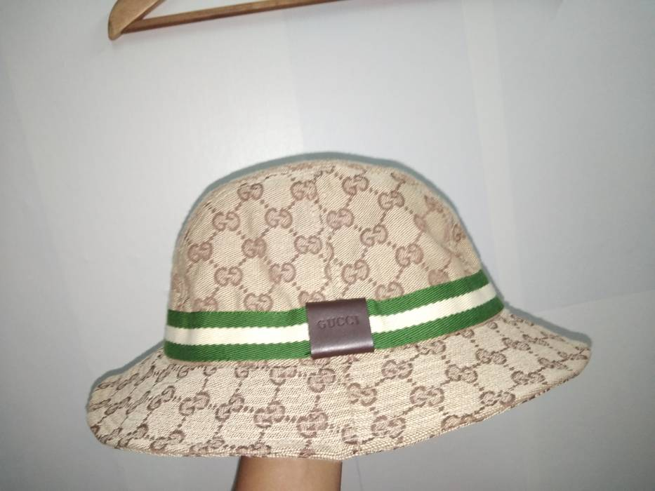 21308349292 Gucci GUCCI VINTAGE GG MONOGRAM BUCKET HAT Size one size - Hats for ...
