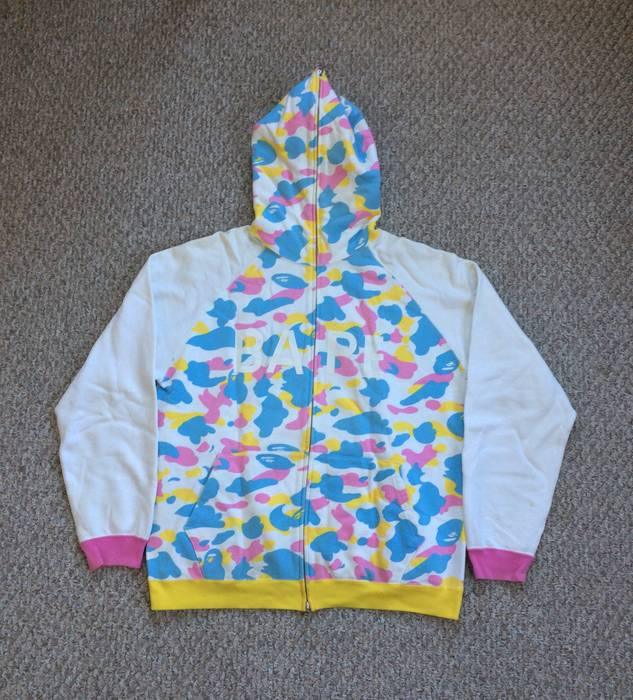 c0f6c8e6f489 Bape OG Bape Cotton Candy Hoodie Size xl - Sweatshirts   Hoodies for ...