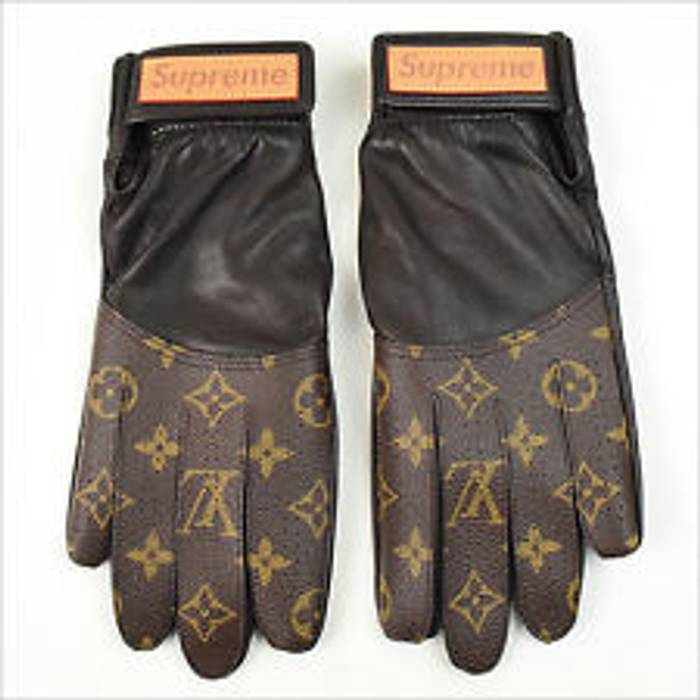 Supreme Supreme X Louis Vuitton Monogram Baseball Gloves Size One