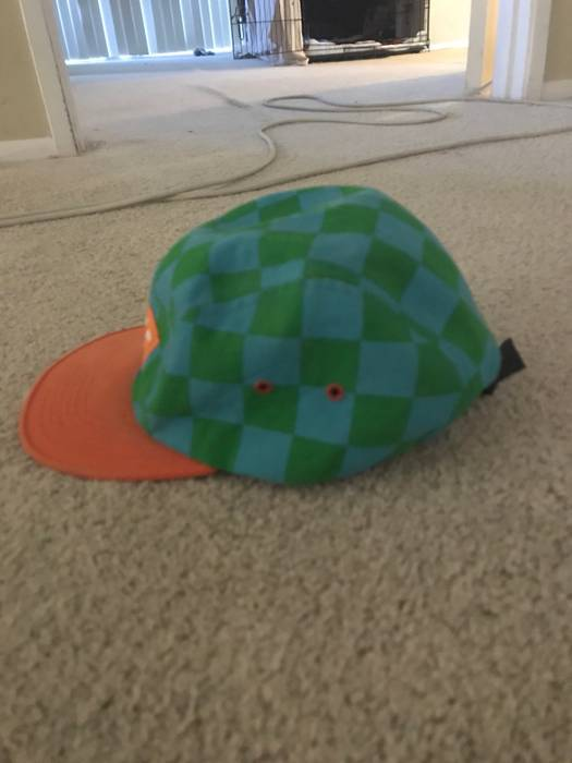 c831c73911a Golf Wang Checkered Camp Cap Size one size - Hats for Sale - Grailed