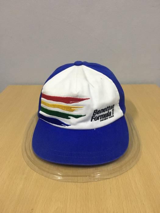 United Colors Of Benetton Vintage Benetton Formula One Hat Cap Size ONE SIZE 8d50ea7a0d57