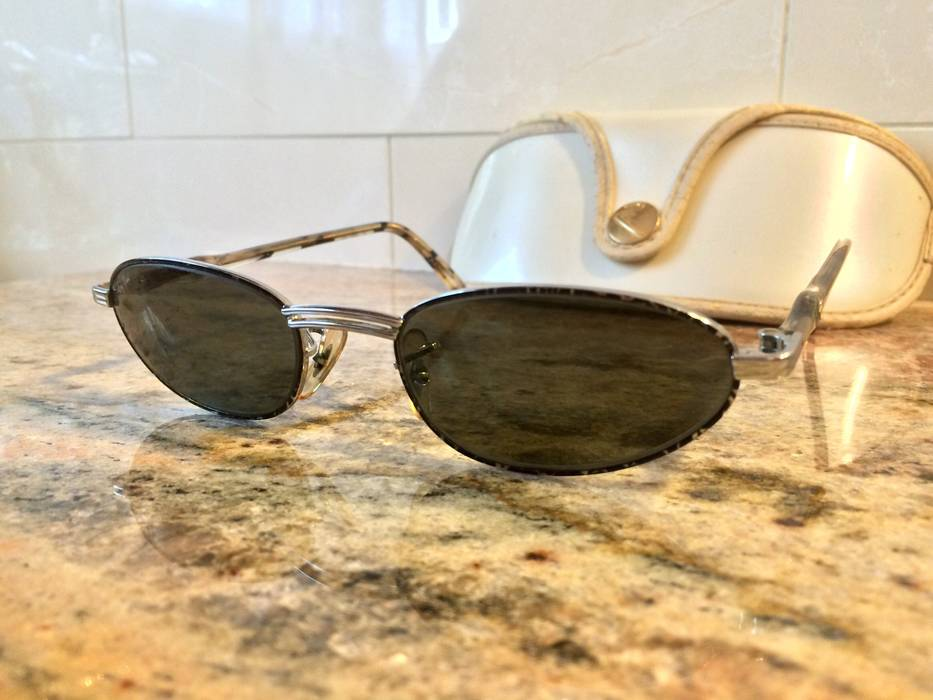 516e47057aa6c RayBan Vintage Oval Ray Ban B L Sunglasses Size one size ...