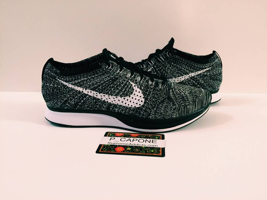 4551b8c943c2 Nike NIKE FLYKNIT RACERS OREO V 2.0 Size 12 - Low-Top Sneakers for ...