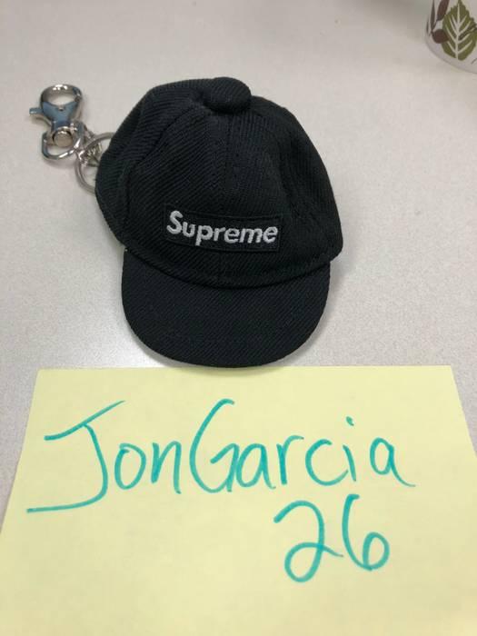 dda4876110f ... buy supreme supreme x new era keychain box logo fitted hat black size  one size 84929