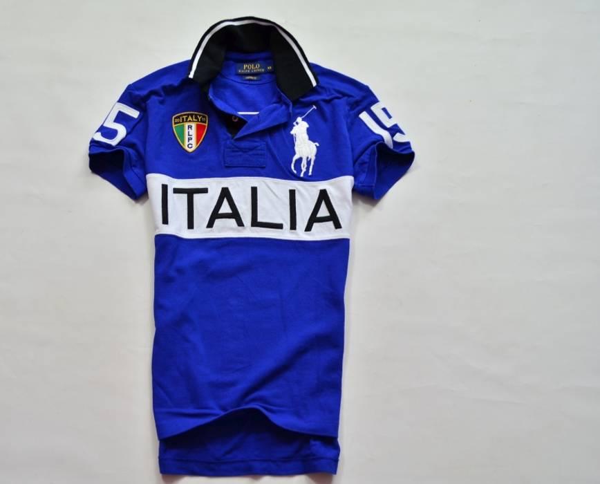 Ralph Lauren Ralph Lauren Italy Polo Shirt Big Pony Xs Blue Italia