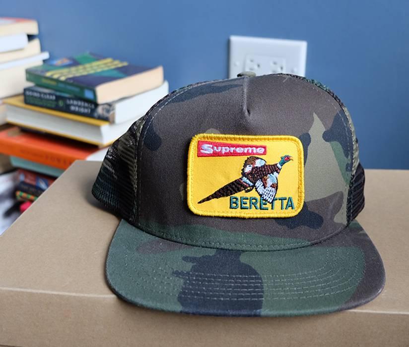 Supreme SUPREME BERETTA TRUCKER CAP Size one size - Hats for Sale ... 79402269117