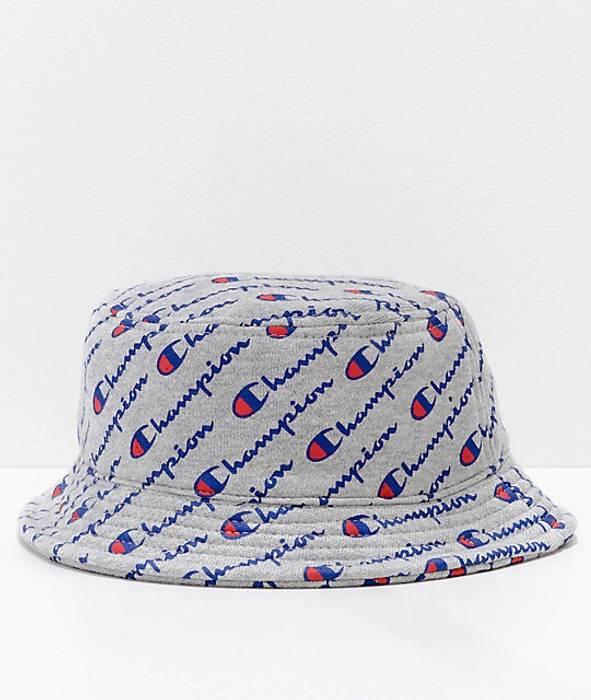 Champion All Over Script Champion Bucket Hat Size one size - Hats ... 5f4965e64da