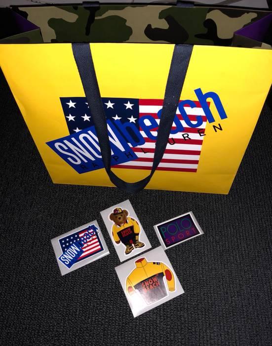 017a52b6bca1 Polo Ralph Lauren Polo Ralph Lauren Snow Beach Bag - With Stickers ...