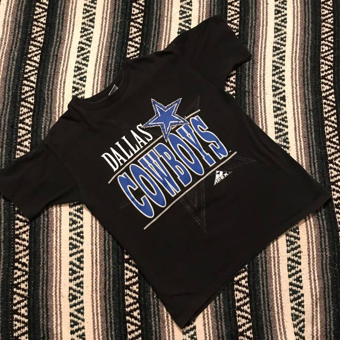 e477954eb Vintage Vintage 90s USA Made Apex Dallas Cowboys Front Back Graphic T Shirt  Spell Out Star