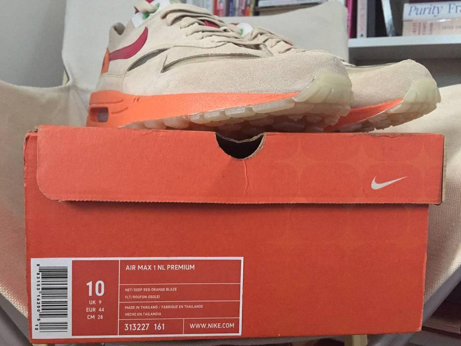 new products 73b8d 50764 Voici l image à Nike Nike Air Max 1 x CLOT ...