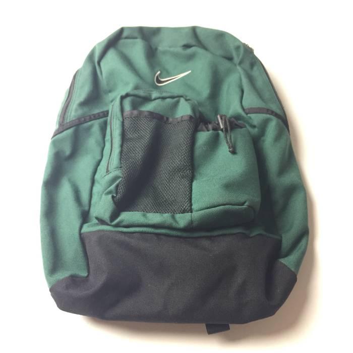 c1c0b0e52961 Nike Vintage Nike Backpack Swoosh Embroider Green Bag 90 s OG Agassi Flight Air  Size ONE SIZE