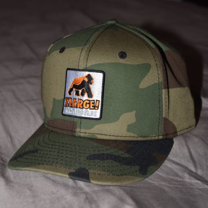 X Large Xlarge Patch D Frame Trucker Cap By New Era As Worn f833bcf3fa4e