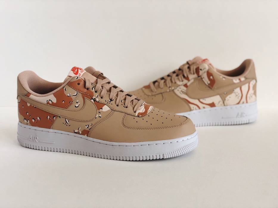 Nike. NIKE AIR FORCE 1  SZ 11.5  LV8 07 SHOES BIO BEIGE DESERT CAMO MEN NEW  823511-202 9fb635d9b5df