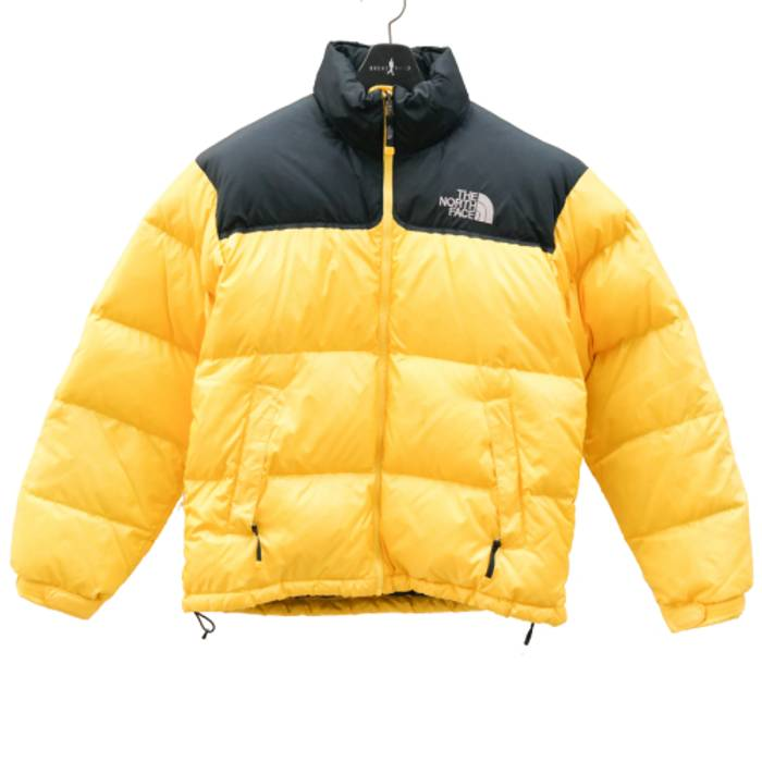The North Face North Face YELLOW 700 Nuptse Goose Down Puffer Jacket ... e51b653b7