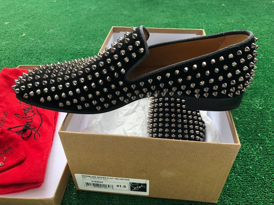 bd89d3a6149a Christian Louboutin Dandelion Spikes Size 8.5 - Formal Shoes for ...