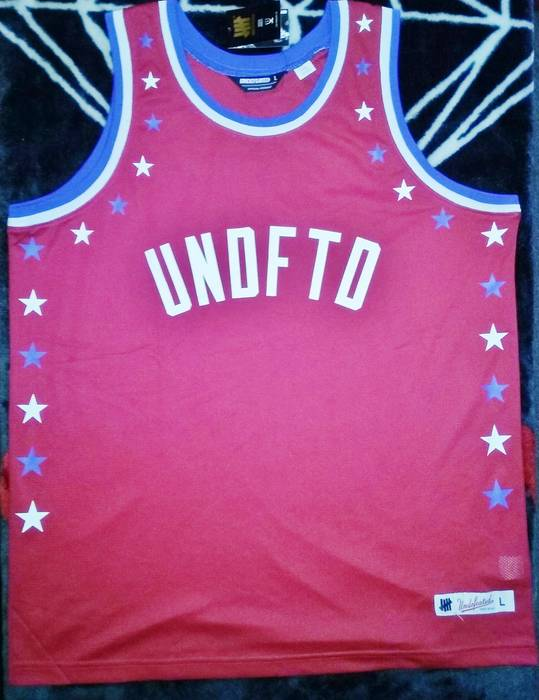 Undefeated Undefeated All Star Basketball Jersey Size l - Jerseys ... c6853e9a9