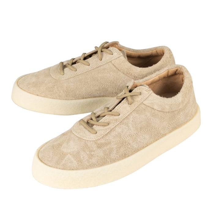 cf4df1854d27d Yeezy Season 6 Taupe Thick Shaggy Suede Crepe Sneakers Shoes Size US 8   EU  41