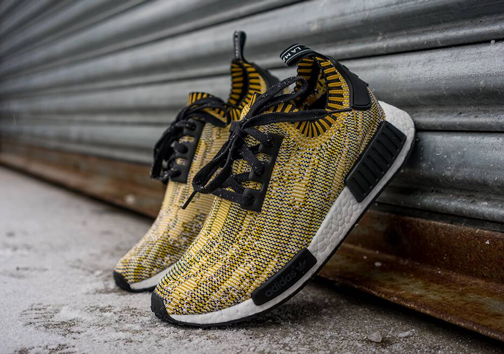 1013c591e Adidas NMD R1 PK Yellow Camo US 9 Size 9 - Low-Top Sneakers for Sale ...