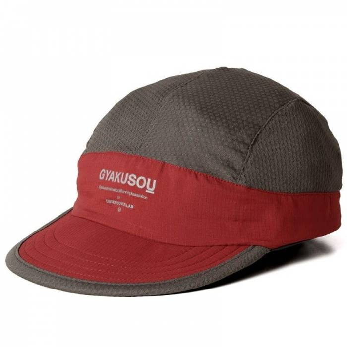 0b007a70b15 Undercover GYAKUSOU Red Mesh Running Cap Size one size - Hats for ...