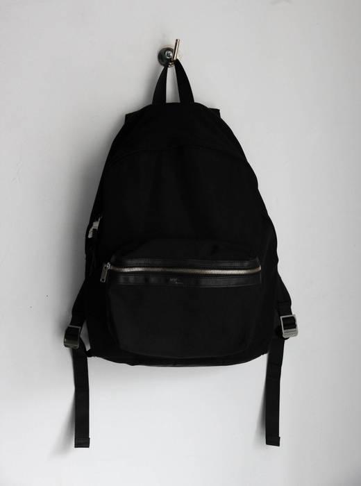 3aad779e22d7 Saint Laurent Paris 🔴 foldable city backpack in black nylon Size ...