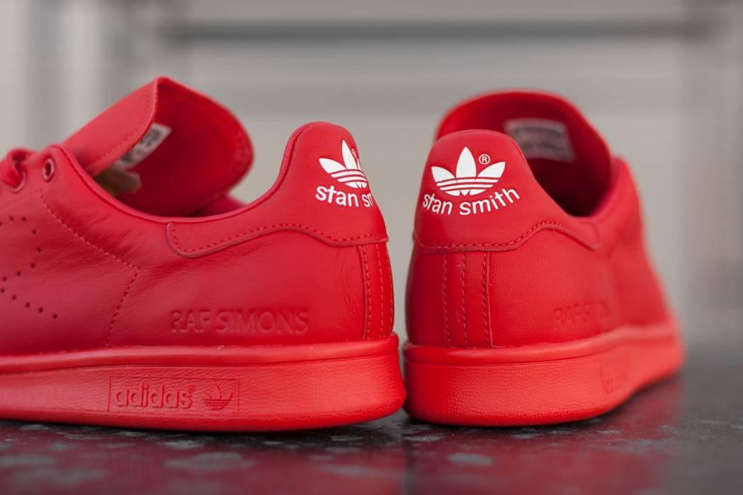 760b8add069a Adidas Adidas x Raf Simons Stan Smith in Red Size 10 - Low-Top ...