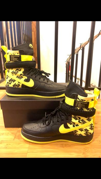Nike Nike SF Air Force 1 - Dynamic Yellow Size US 10   EU 43 - d924f9043