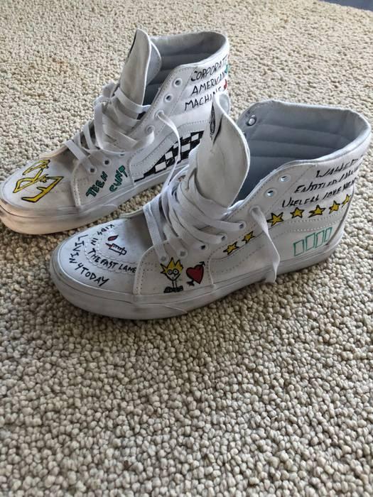 1afeeac8a53 Enfants Riches Deprimes Vans Collaboration Size 9 Hi Top Sneakers