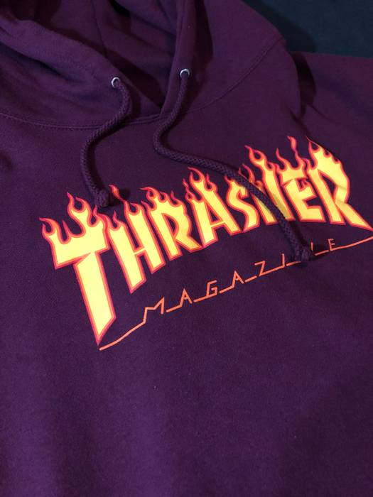 d7cebd8bf9f9 Thrasher Flame Logo Hoodie Size l - Sweaters   Knitwear for Sale ...