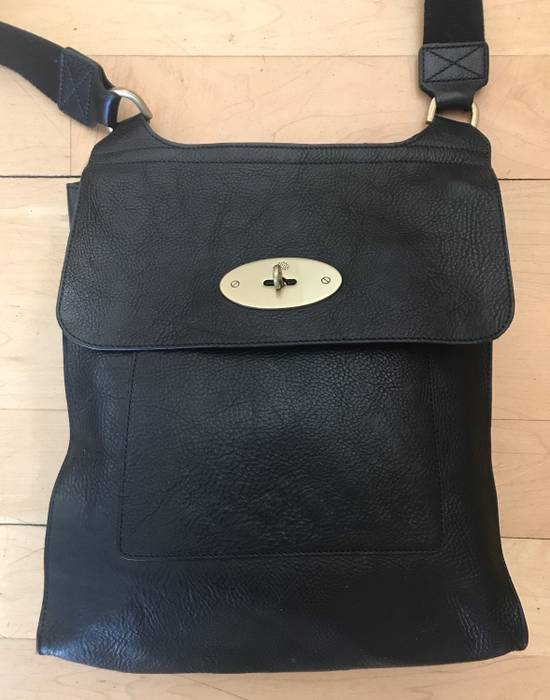 Mulberry The Antony Classic Unisex Messenger bag in black Size ONE SIZE - 1 87306a89c2868