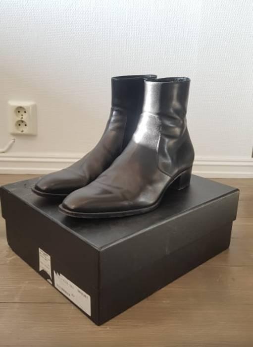 4cecfa21ddcd Saint Laurent Paris 40mm Wyatt non-harness 45.5 Size 12.5 - Boots ...