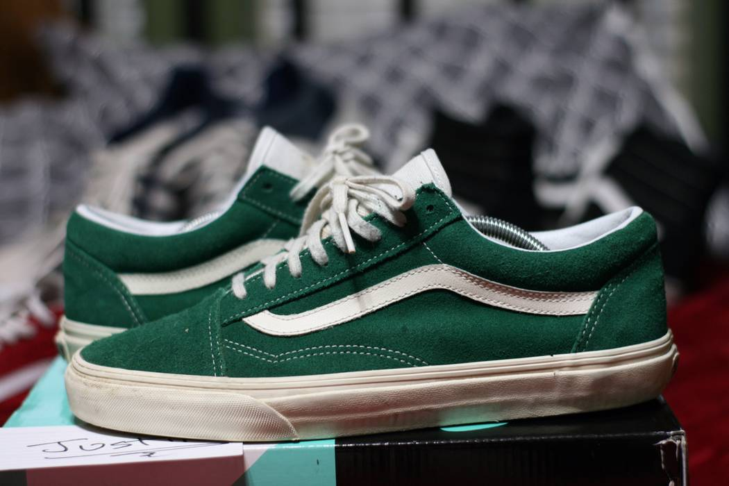 Vans Forest Green Old Skool Size 11 - Low-Top Sneakers for Sale ... def96b6cb9