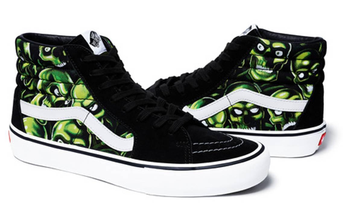 4bcd12d1e9 Supreme Supreme x Vans Skull Pile Sk8-Hi Size 10 - Hi-Top Sneakers ...
