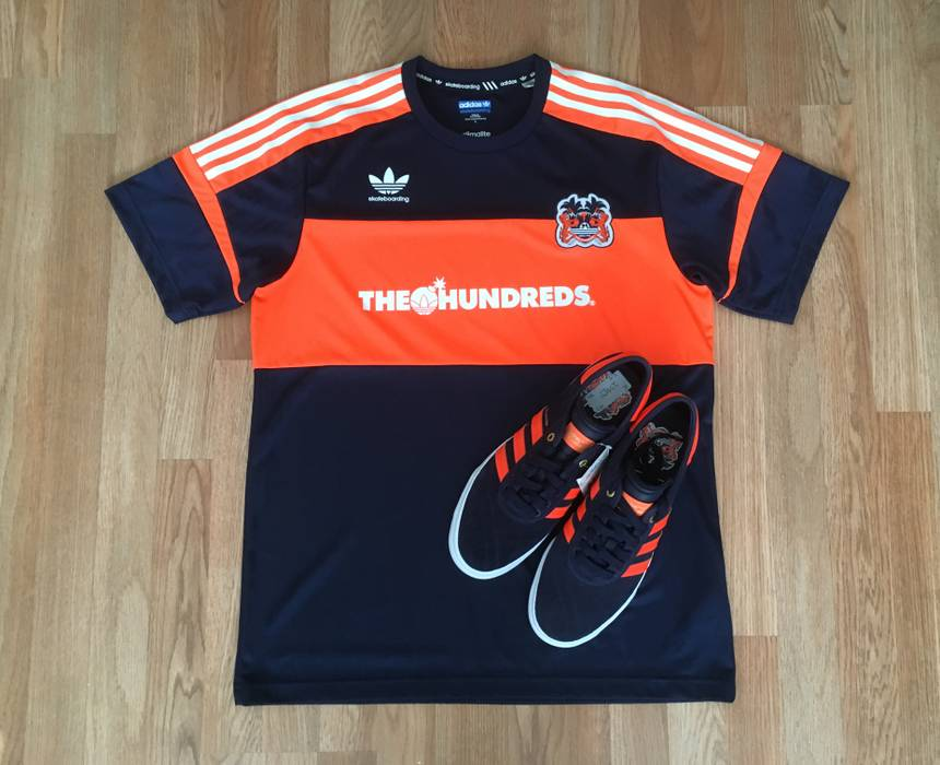 timeless design 83a8c eed3a Adidas The Hundreds x adidas Adi Ease Crush Shoes + Jacquard Knit Jersey Sz  L Size