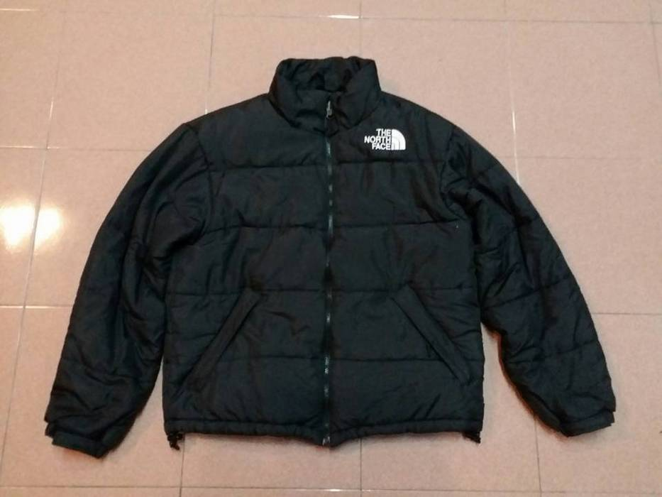 The North Face THE NORTH FACE Polyester Winter Snow Black Jacket Size M  Defected not nike 3986dbc2241