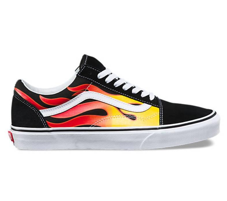 Vans Vans Flame Size 5.5 Mens 7 Women s Size 6 - Low-Top Sneakers ... 51a77da94