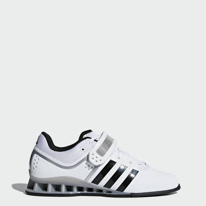 711cc1e6ebe3 Adidas. Adidas AdiPower Weightlifting Weight Powerlift Trainer Shoes Boots  White M25733