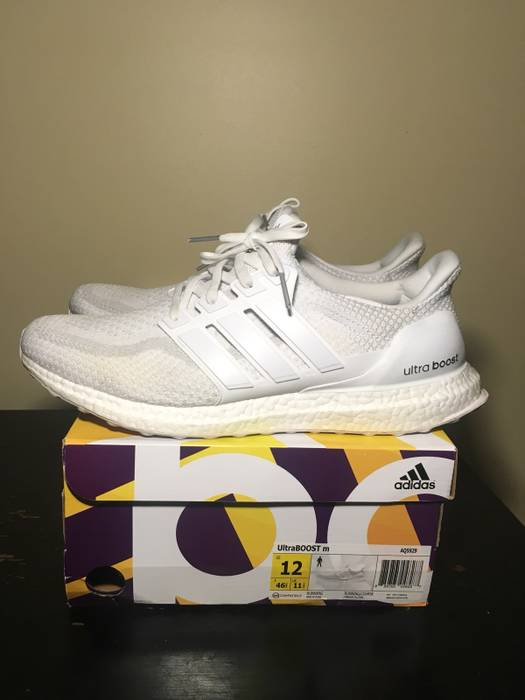ed5c6cad4137 Adidas Adidas Ultra Boost 2.0 Triple White Size 12 Size 12 - Low-Top ...