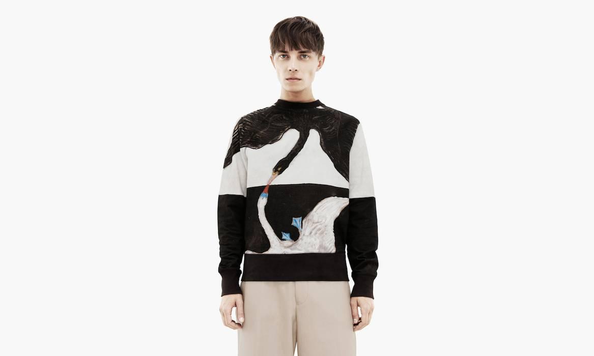 Acne Studios Acne x Hilma Af Klint swans sweat Size m - Sweaters ... 58b2a15b06d