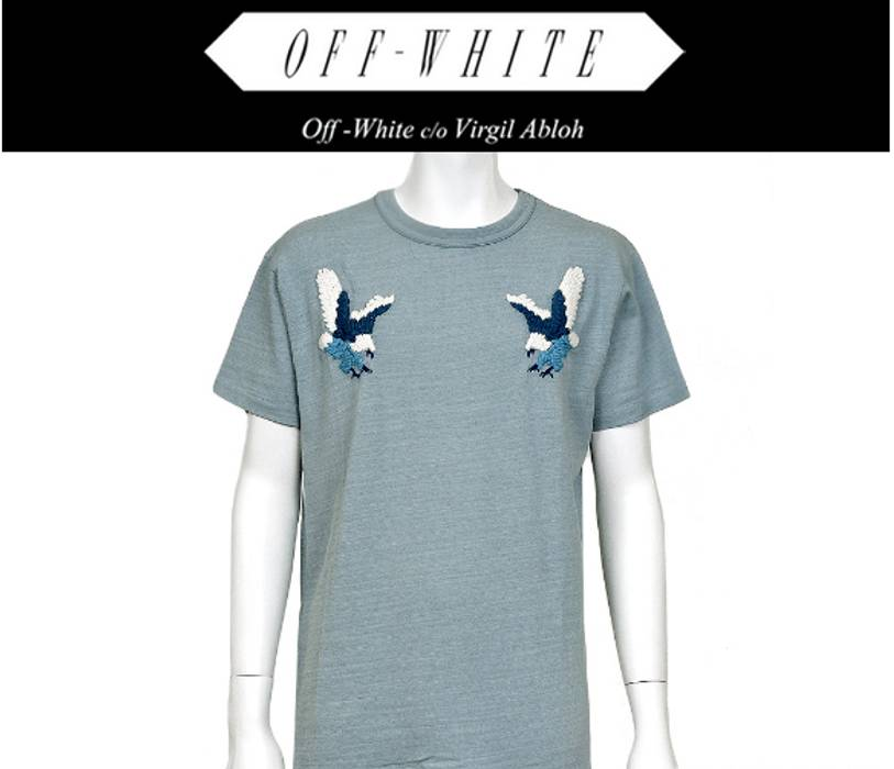 Off-White 2016 SS Off-White Eagle Tee Size xl - Short Sleeve T ... b3b1521240e3