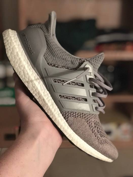 Adidas Adidas Ultra Boost 1.0 Wool Gray Size 10 - Low-Top Sneakers ... f8a56b55a