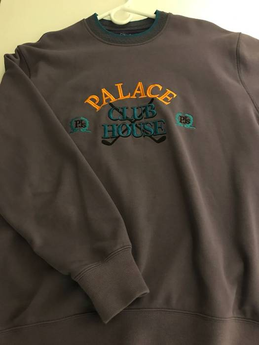c55e6b24615f Palace CLUBHOUSE CREW WINE Size l - Sweatshirts   Hoodies for Sale ...