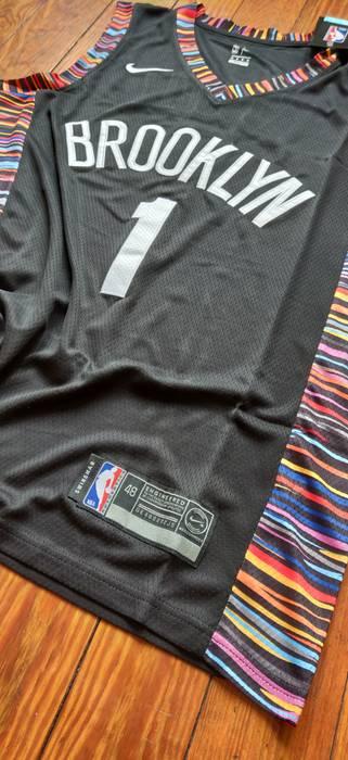 45ac5f6cc01 Nike Brooklyn Nets City Edition Jersey Size M Tank Tops