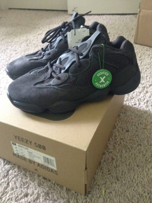 028f03f00914e Adidas Kanye West Yeezy 500 Utility Black Size 8 - Low-Top Sneakers ...