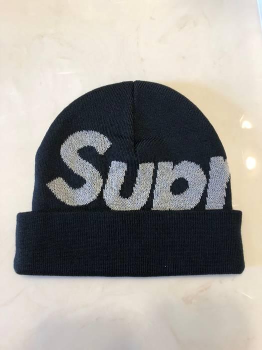 Supreme Supreme Big Logo Beanie Size one size - Hats for Sale - Grailed 3d6b36ea7a4