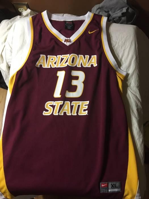 9f057d6b6 ... sun devils youth college player t shirt white 61a96 d2d11  closeout  nike james harden arizona state jersey size us xl eu 56 4 3b3b0 94588
