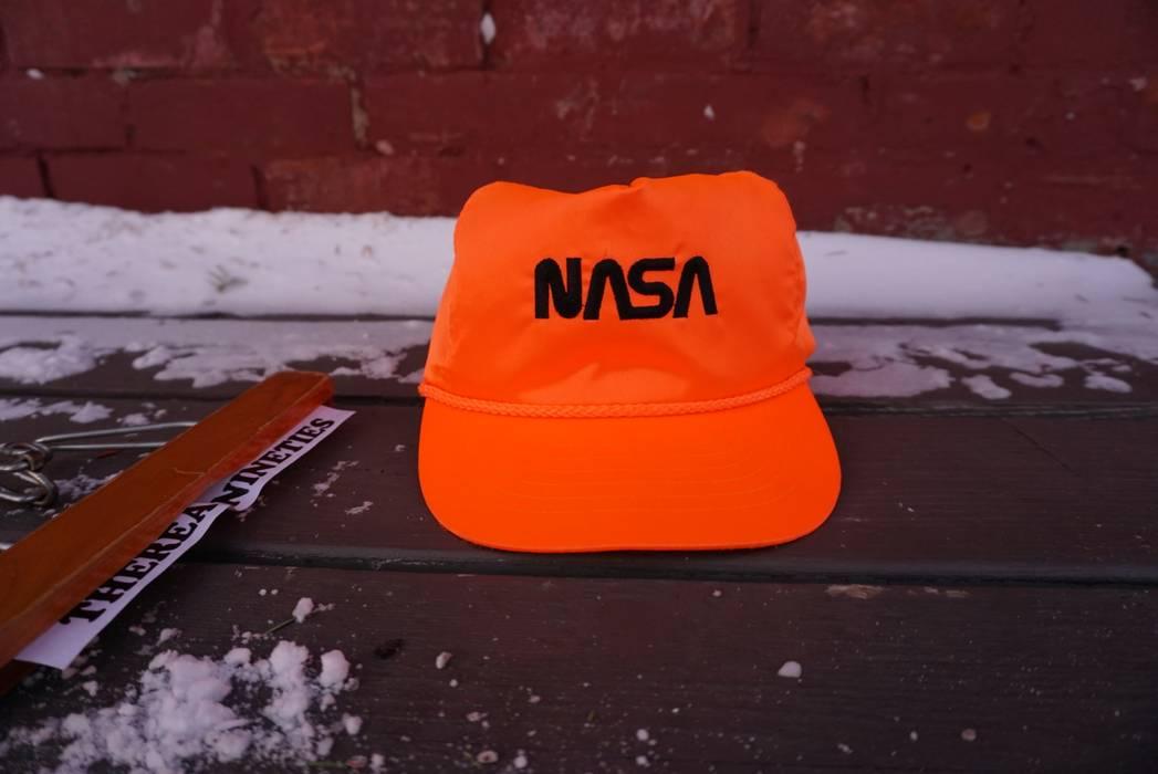 7b4cf9d7fc2 Vintage Vintage NASA Orange Snapback Hat Size one size - Hats for ...