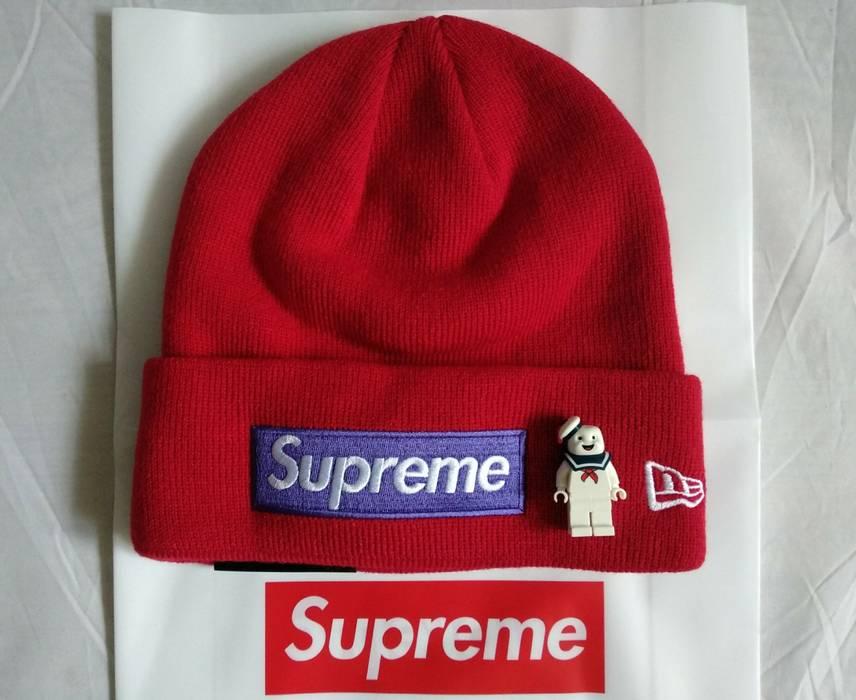 Supreme Box Logo Red Purple Beanie Size ONE SIZE. SUPREME NEW ERA ... 43b09b7fbd44