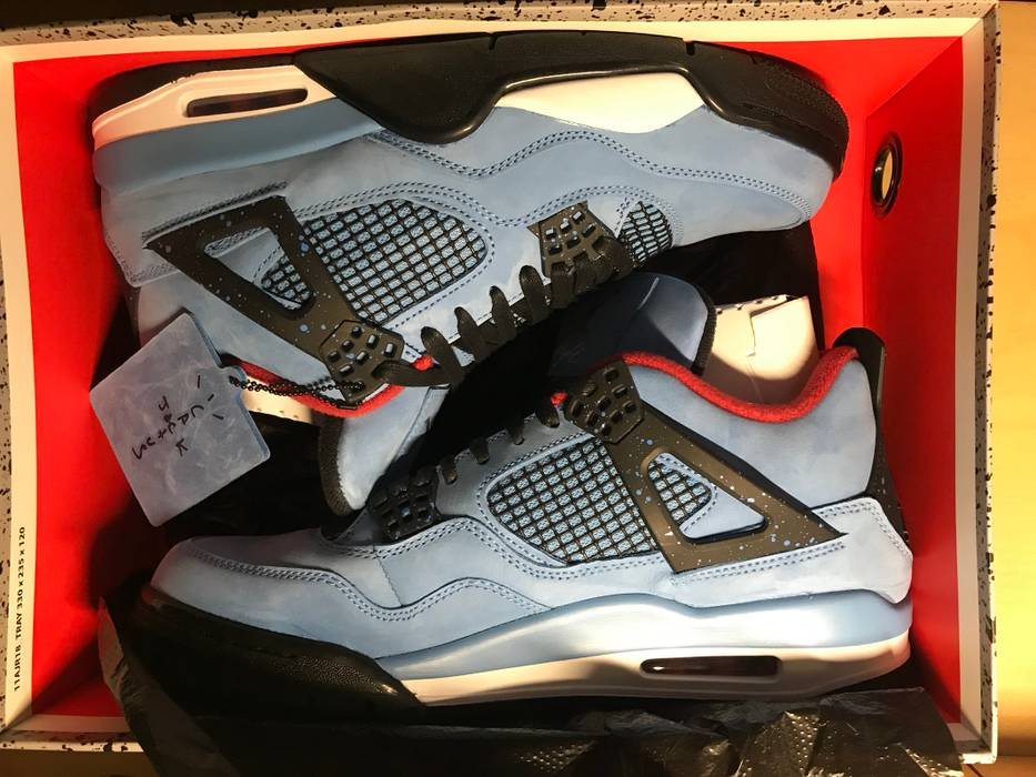 cd6fff8fb768 Nike Travis Scott 4s Size 10 - Low-Top Sneakers for Sale - Grailed