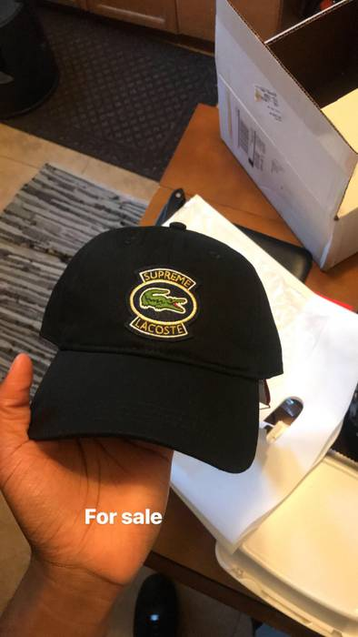 Supreme supreme X Lacoste Dad Cap Size one size - Hats for Sale ... 0c9bd57f72f